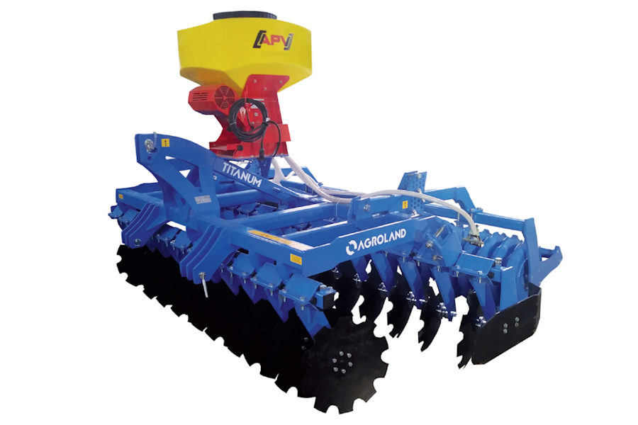 Disc harrow Titanum Heavy